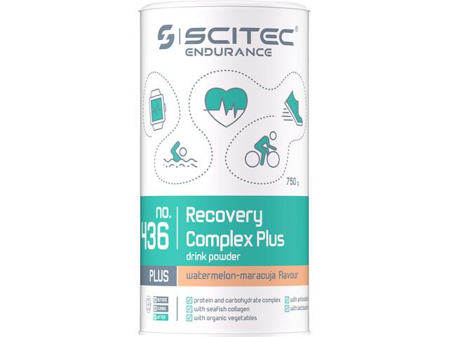 SCITEC Recovery Complex Plus Bebida en Polvo 750g, Maracuja-Melon